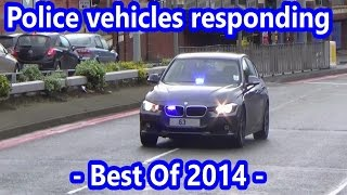 Police Vehicles Responding - BEST OF 2014 -
