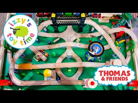 Thumbnail: Thomas and Friends | Thomas Train Naptime Track with Brio and Imaginarium | Toy Trains 4 Kids