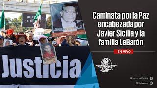 Caminata por la Paz encabezada por Javier Sicilia y la familia LeBarón (5)
