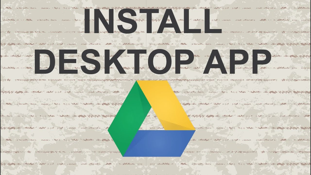 download google drive for laptop