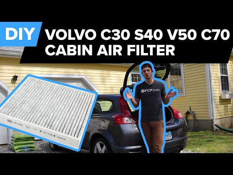 Volvo C30/S40/V50/C70 Cabin Air Filter Replacement DIY