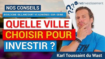 Match immobilier : Boulogne-Billancourt VS Asnières-sur-Seine ? Tous nos conseils [Vidéo BFM]