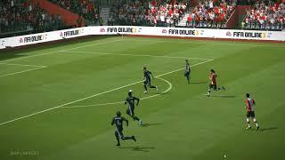 (zlatan ibrahimovic amazing goal)fifa online 3