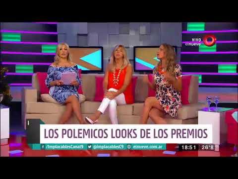 La moda de los Premios Tato con Claudia Arce y Patricia Profumo