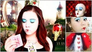 Queen Of Hearts Diy Halloween Costume,makeup&outfit!