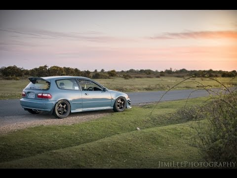 Benny's Kanjo Styled B18C EG Civic Noise Test Using GoPro Hero3