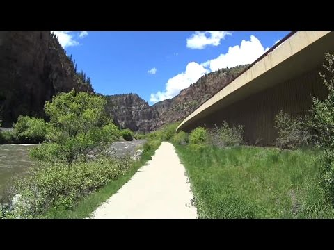 Glenwood Canyon Bike Path Westbound