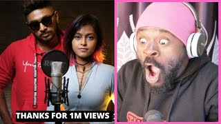🇱🇰Manike Mage Hithe  - Yohani & Satheeshan  Official Cover - 🇺🇬African Reaction.