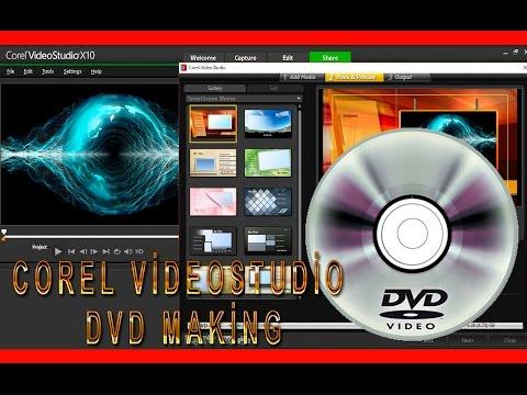 Corel videostudio ultimate x10 ile DVD yapımı