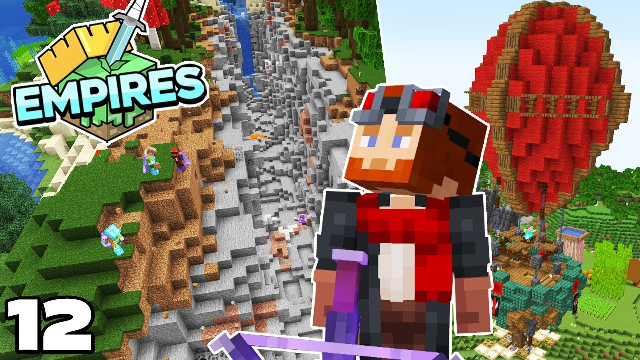 Empires SMP : MAKING PEACE and NEW SKIN! Minecraft 1.17 Survival