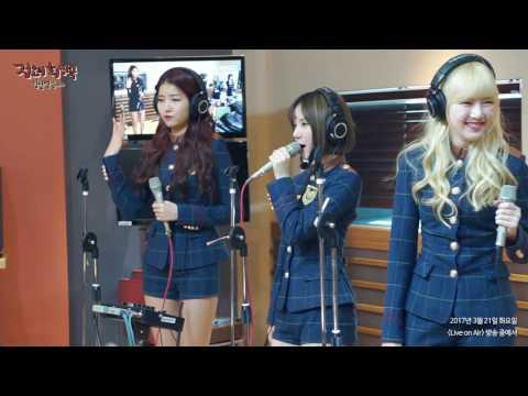 RADIO LIVE | GFRIEND(여자친구) - FINGERTIP @ MBC FM4U 20170321
