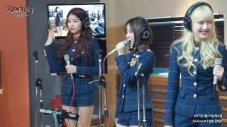 RADIO LIVE   GFRIEND(여자친구) - FINGERTIP @ MBC FM4U 20170321