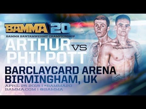 BAMMA 20: (Main Card) Ed Arthur vs Alan Philpott