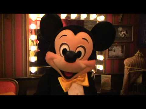 Mickey Mouse shows you around backstage at Town Square Theater at Disney's Magic Kingdom