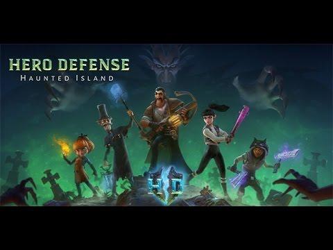 Haunted Island Hero Defense Убиваем время