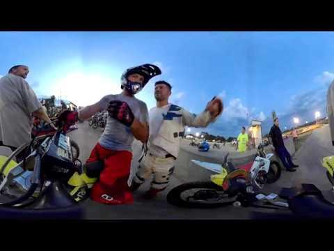 Flat track motocycle racing Southern Raceway 07/28/18