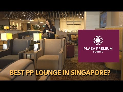 Best Priority Pass Lounge In Singapore? Plaza Premium Lounge