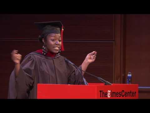 Fall 2017 Commencement: Student Speaker Joy Notoma