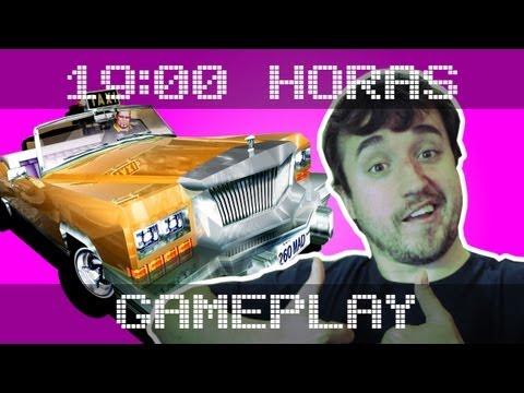 SAI DA FRENTE!!!! (Crazy Taxi) - Gameplay das 19:00hs.
