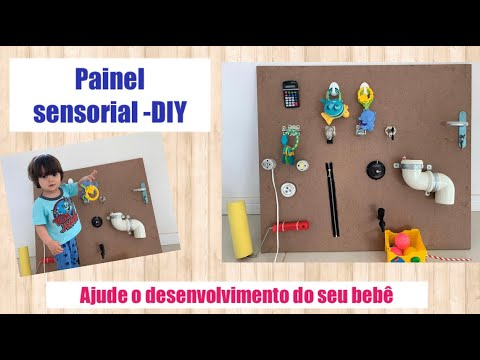 DIY - Painel Sensorial