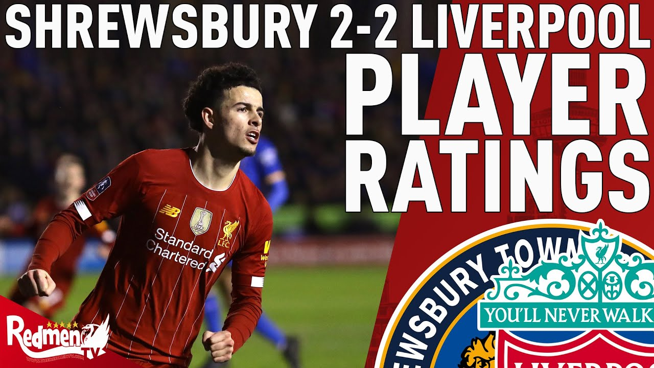 Liverpool Vs. Shrewsbury Town: Curtis Jones Could Become ...