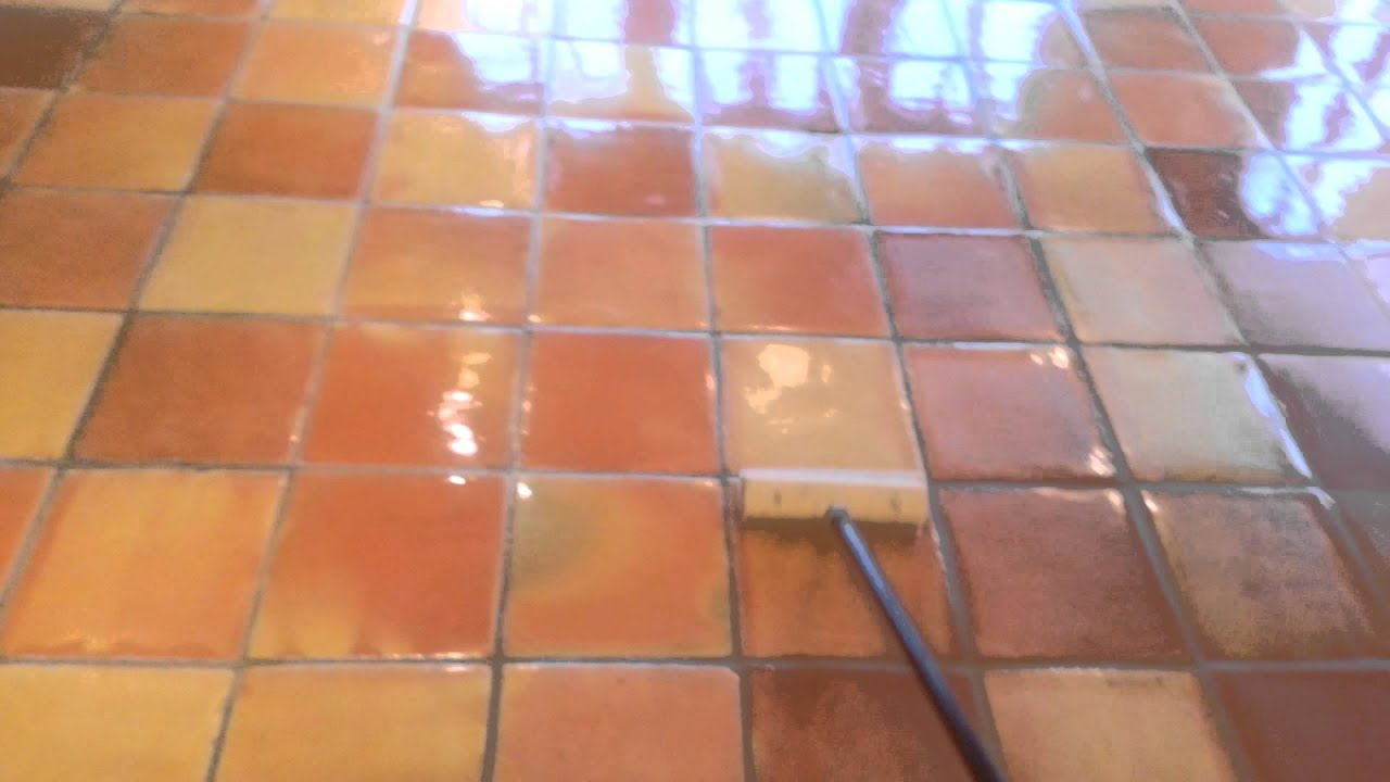 Sealing saltillo tile youtube dailygadgetfo Image collections