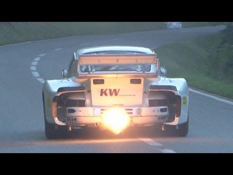 Porsche Special at Swiss Hillclimb 2012, 935 Turbo, Carrera RSR, 911 RSR, 996 997 GT3 Cup, 914, 917