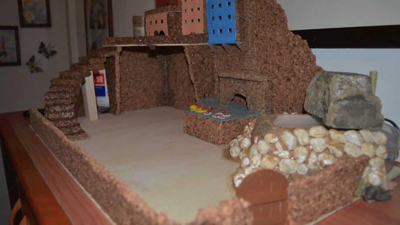 Presepe fai da te youtube for Planimetrie semplici della casetta di legno