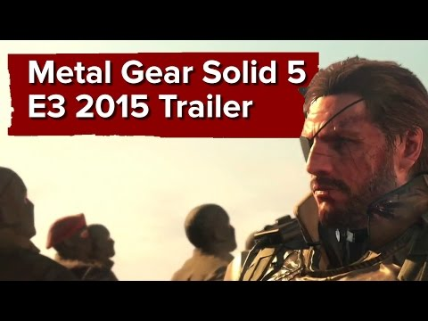 Metal Gear Solid 5 Phantom Pain  E3 2015 Trailer