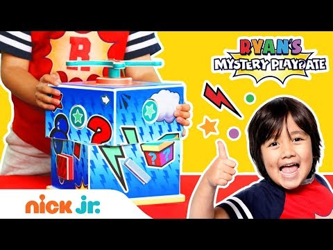 Ryan ToysReview Unboxing Surprise Toys  Ryan&39;s Mystery Playdate: New Show on Nick