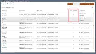 Importing Metadata in Oracle Planning and Budgeting Cloud video thumbnail