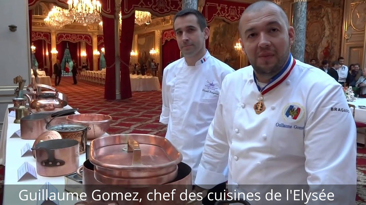Le chef cuisinier de l 39 elys e raconte youtube for Cuisinier elysee livre
