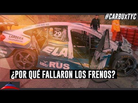 Los detalles del accidente de Facundo Conta bajo la lupa de Franco Vivian (24-05-2018)