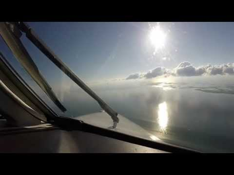Key West Arrival in an MU-2 Marquise