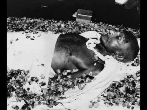 Mahatma Gandhi's Last Journey a Monochromatic View