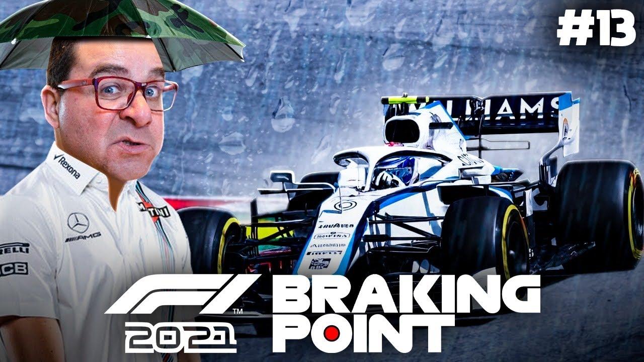 F1 2021 BRAKING POINT #13 | NUNCA VI TANTA CHUVA NA PISTA (PORTUGUÊS)