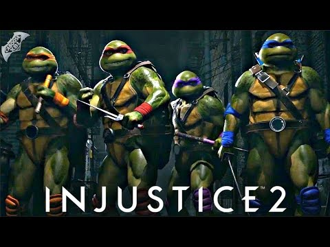 Thumbnail: Injustice 2 - My Thoughts on the Ninja Turtles and Fighter Pack 3!