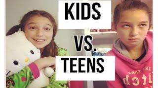 kids vs teens morning routine