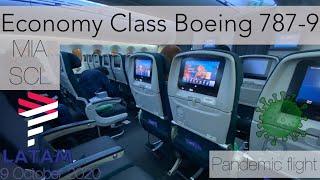 LATAM Boeing 787-9 ✈️ ECONOMY PLUS MIA - SCL during CORONAVIRUS 🦠