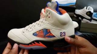 "FIRST LOOK: AIR JORDAN RETRO 5 ""BARCELONA"" INTERNATIONAL FLIGHT RETAIL REVIEW"