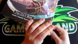 Magic: The Gathering Kaladesh Holiday Gift Box Unboxing - [Deutsch] [HD]