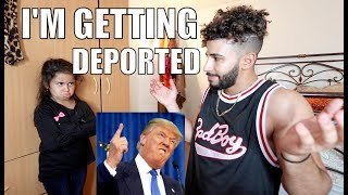 I'm Getting Deported Prank On 5 Year Old!!