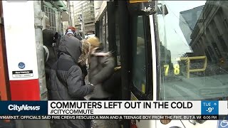 Old TTC streetcars failing due to extreme cold