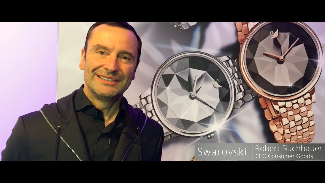 946769ea5 Baselworld 2018 insights - interview with Swarovski - YouTube