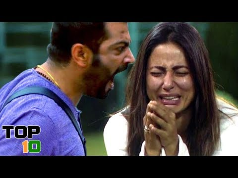 Top 10 Freak Outs In Bigg Boss India