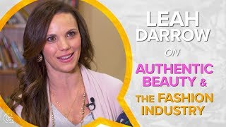 Beauty, Fashion Industry, and Social Media - Leah Darrow Interview