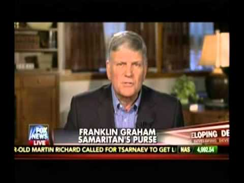 Rev. Franklin Graham: Ban Immigration From 'Muslim Countries'