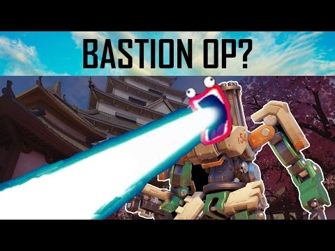 Overwatch | Is New Bastion Breaking The Game? (Probably Not)