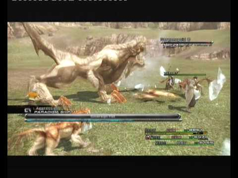 Final Fantasy 13 Special character moves