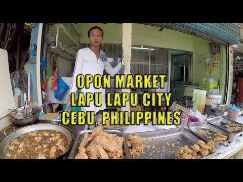 Opon Market, Lapu Lapu City, Cebu, Philippines